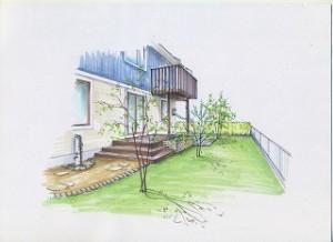 埼玉県川口市 草むしり屋 庭造り3