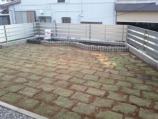 埼玉県川口市 草むしり屋 砂利敷1