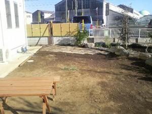 埼玉県川口市 草むしり屋 庭造り6
