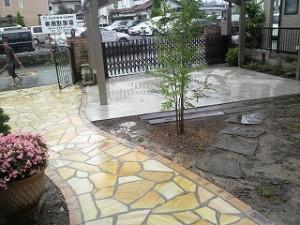 埼玉県川口市 草むしり屋 庭造り2