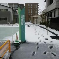 越谷市で雪かき 越谷レイクタウン