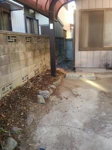 プランターの整理 空き家の処分 廃品回収
