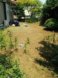 真夏日 猛暑日 さいたま市 除草 草刈り