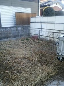 草むしり 草刈り 除草 便利屋 伐採