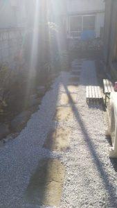 東京 足立 板橋 北 庭リフォーム 草むしり